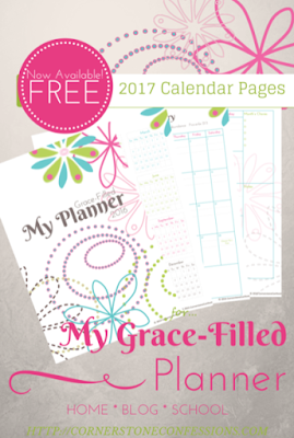 free 2017 planner printables