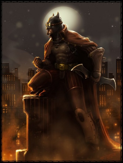 The Incredible Stuffs Steampunk Renditions Of Superheroes