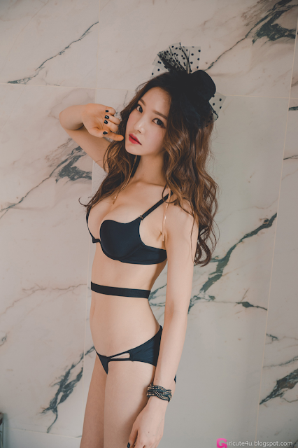 Park Jung Yoon - Lingerie Set - very cute asian girl - girlcute4u.blogspot.com (5)