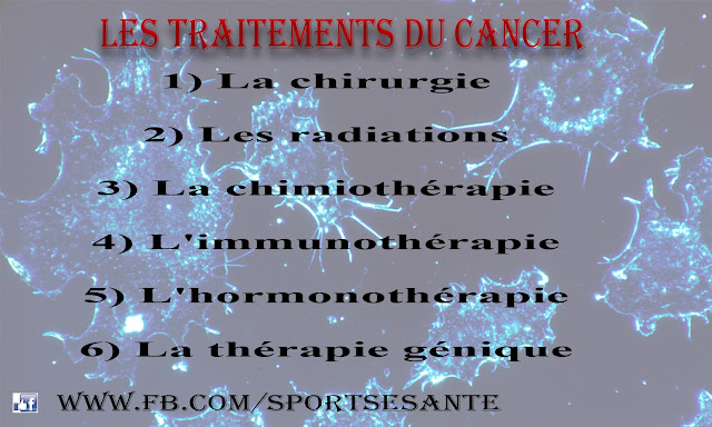 Les traitements du cancer