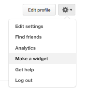 Blogger Tutorial: How to add a pinterest widget to your blogger post