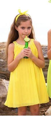 Vestido amarillo bimbalina nuevo catalogo de primavera verano ven a la ratita presumida a descubrirlo