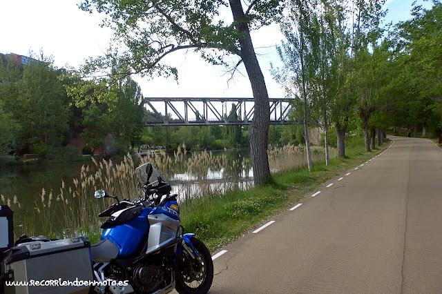 Puente de hierro, Soria