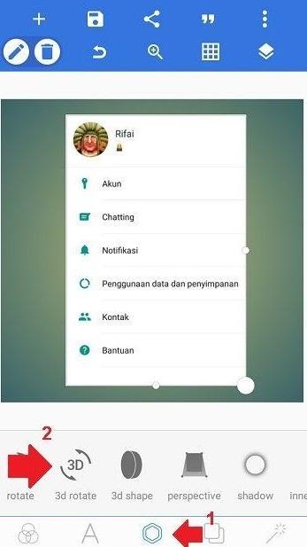Cara Bikin Foto Profile 3D Di WhatsApp
