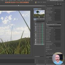 Tutorial C4D: Cara Menggunakan Material Corona Dan Hair Untuk Membuat Rumput Di Cinema 4D