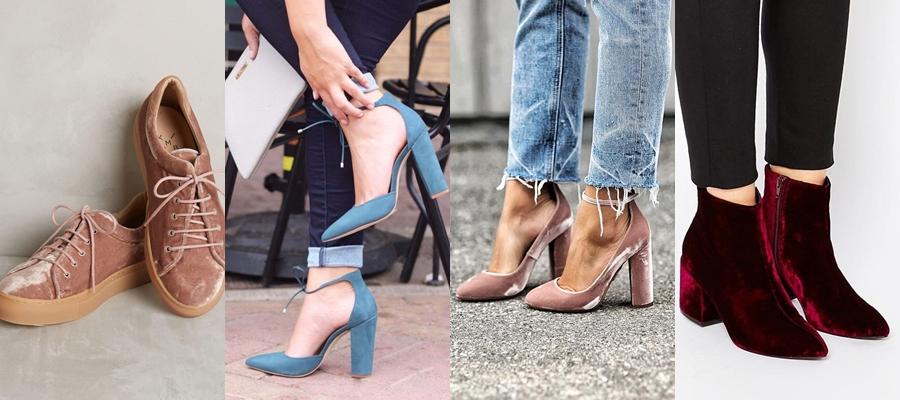 veludo, tendencia, look, moda, amo moda, fashion, fashion style, blogueira cristã, veludo molhado, tenis veludo, sandalia veludo, scarpin veludo,