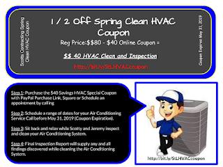 $40 Spring Clean AC Service
