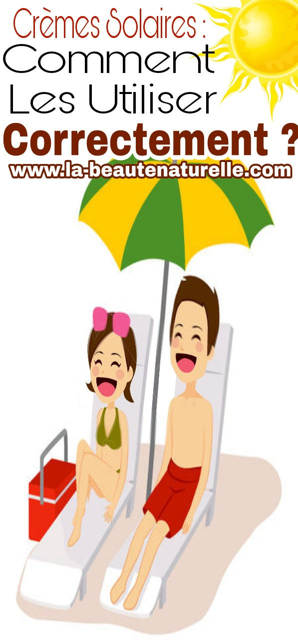 Crèmes solaires : comment les utiliser correctement ?