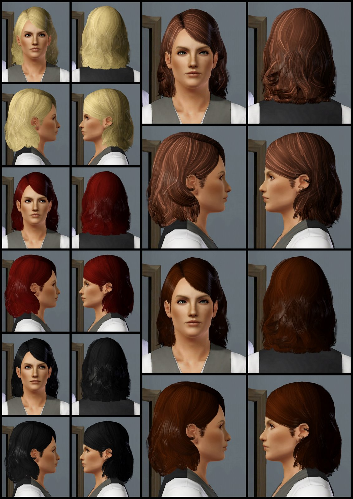 The Sims 3 Store: Hair Showroom: The Fliggs Fluff