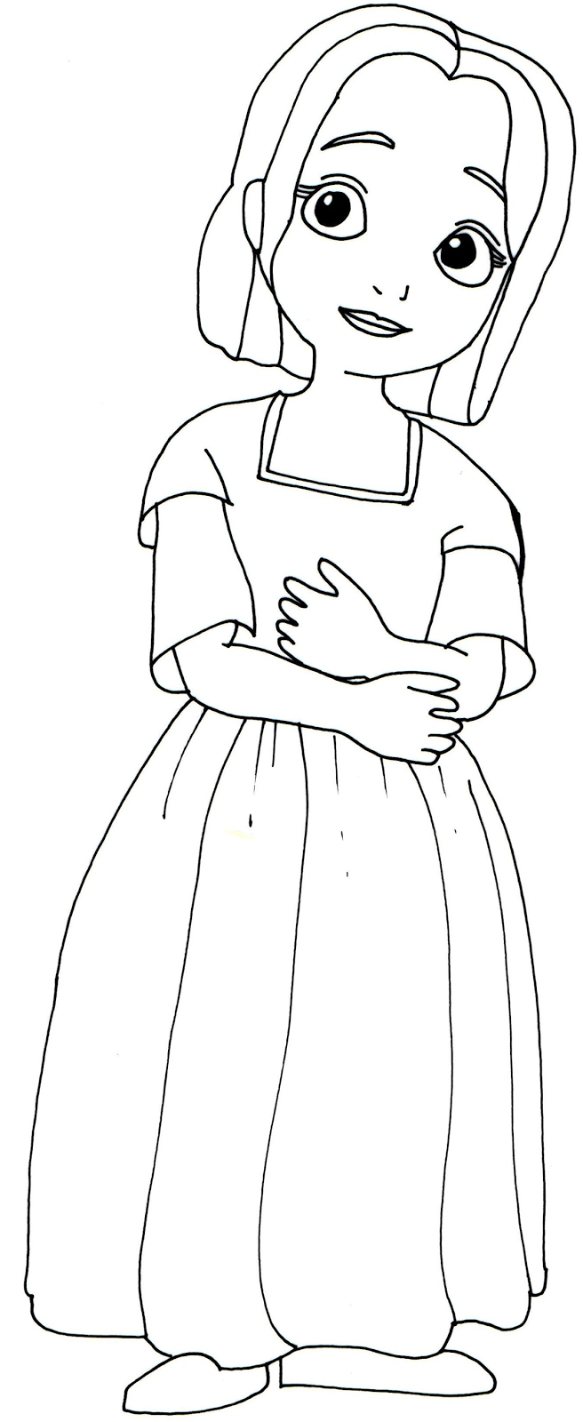 Sofia The First Coloring Pages Jade Sofia The First