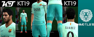 Barcelona Third Kit 2016-17 Pes 2013