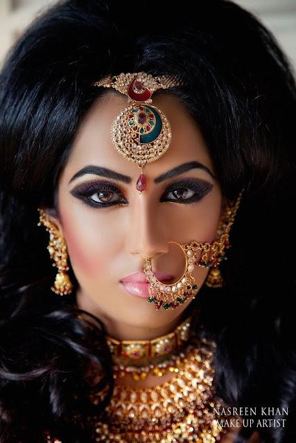 mujer bella de la india