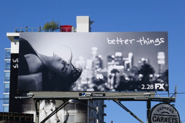 Better Things season 3 FX billboard