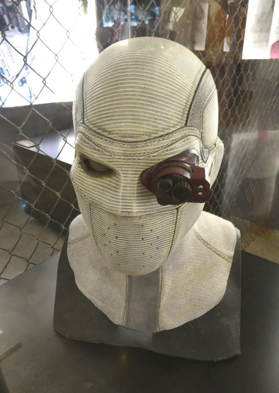 Suicide Squad Deadshot mask monocle