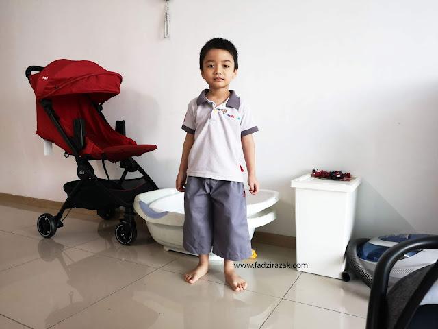 Hari Pertama Aneeq Ke Kinderkaizen