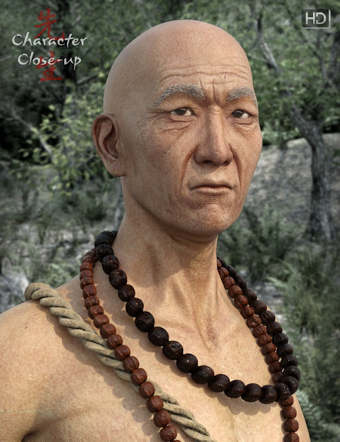 Wise Sensei for Genesis 3 Male