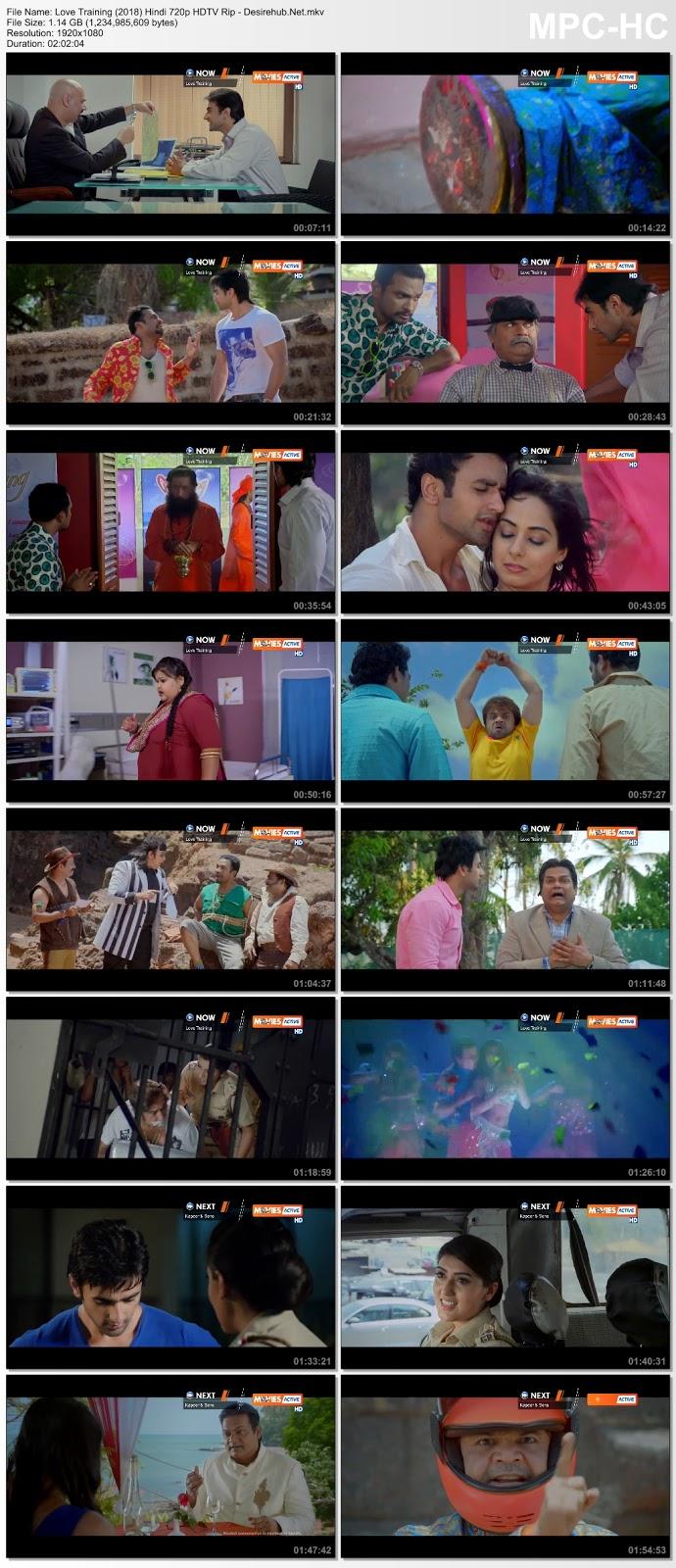 Love Training (2018) Hindi 720p HDTVRip 1GB Desirehub