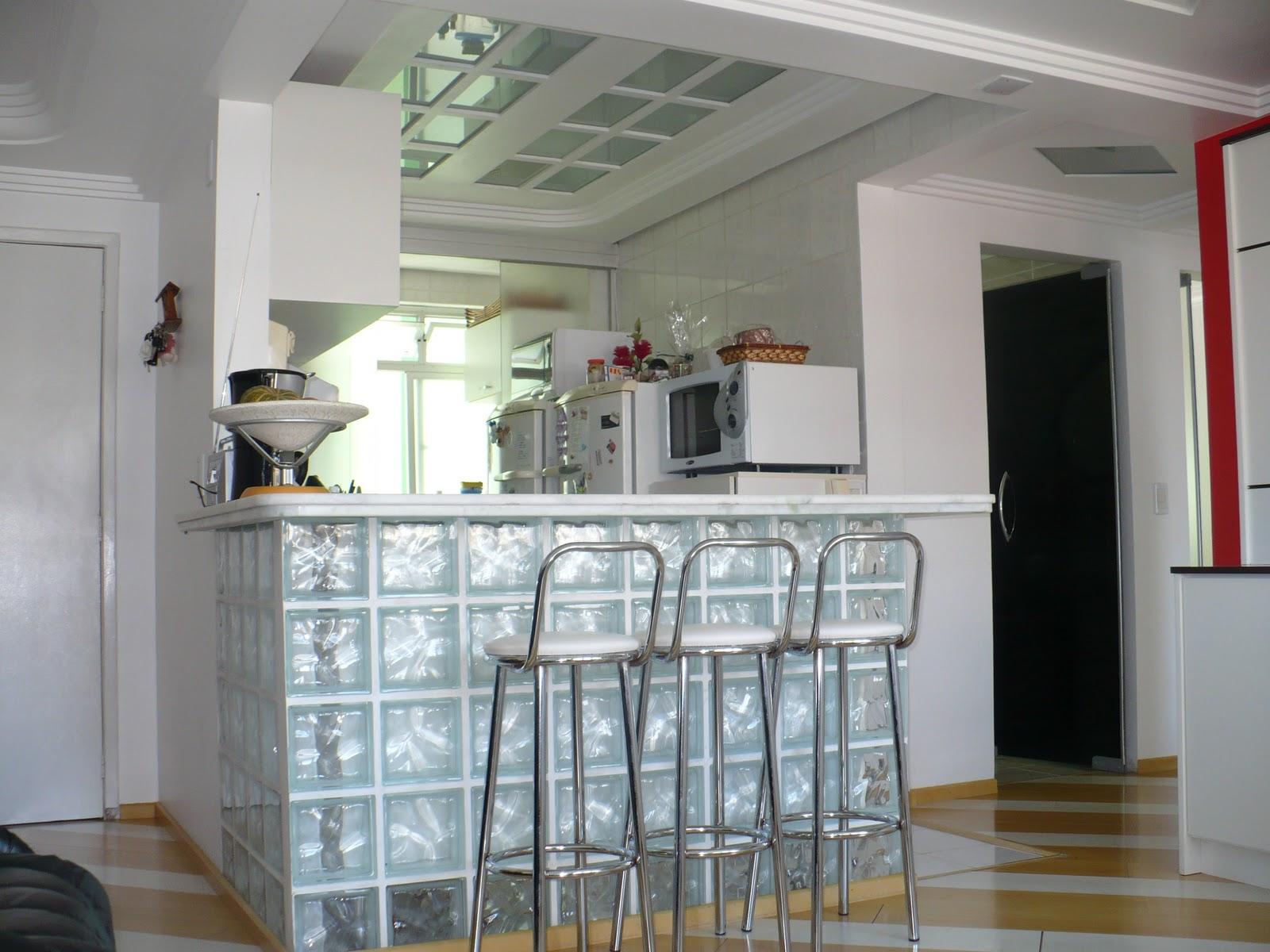 Cozinha Americana Com Balcão De Vidro Cozinha Webpage