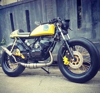 scrambler design Yamaha RX King