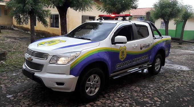 MUCAMBO-CE: GUARDA MUNICIPAL RECEBE NOVA VIATURA