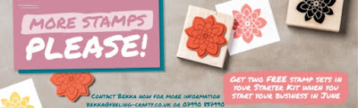 Get two stamp sets FREE when you join Stampin' Up! UK here in June 2016