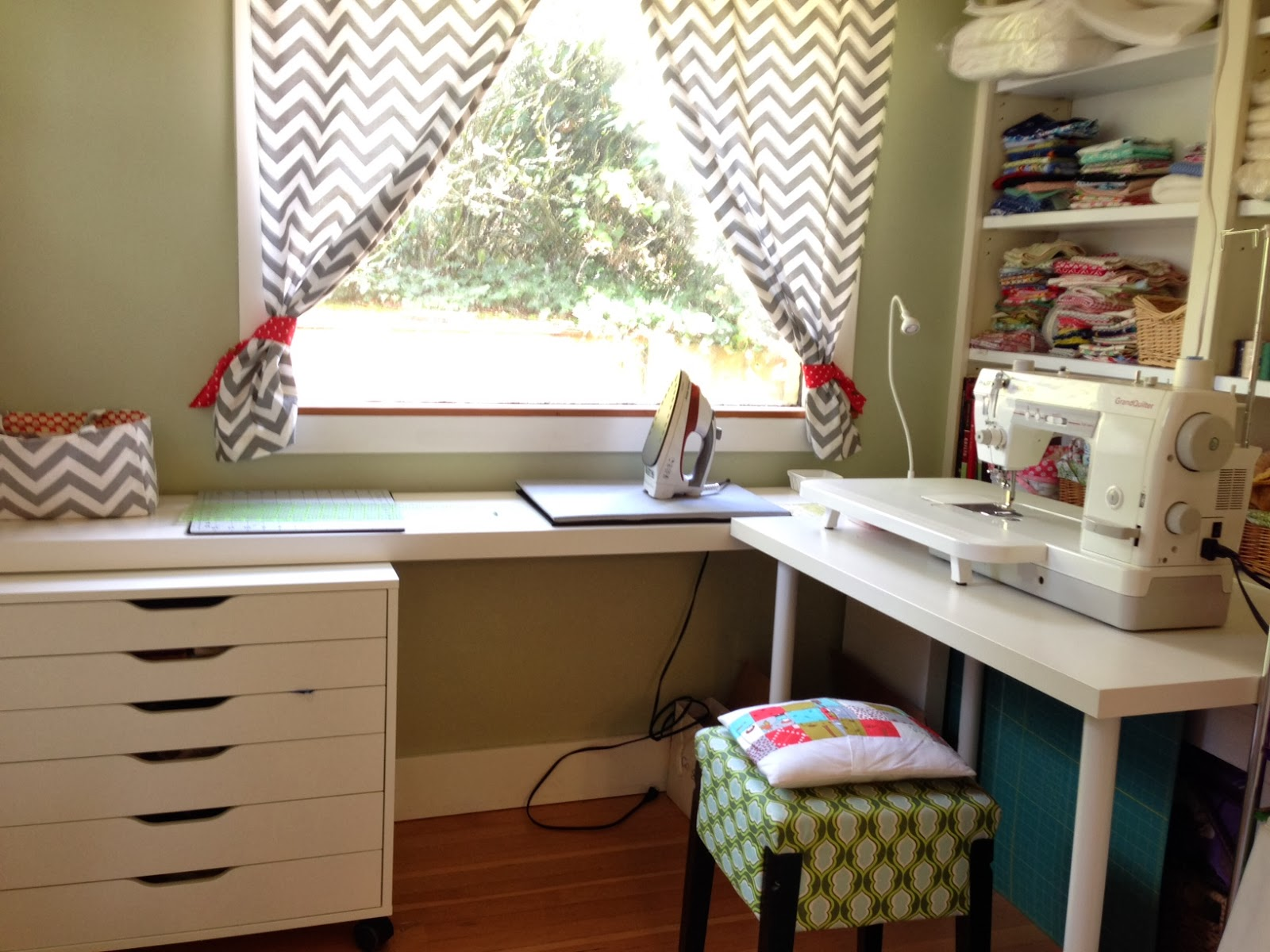 Sewing Room Designs: A Tour Of My Humble Sewing Space