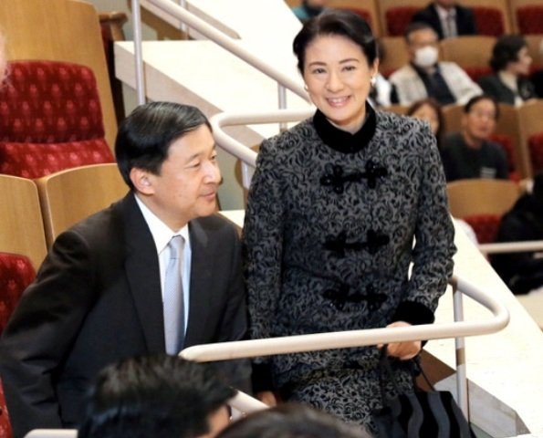 Crown Prince Naruhito and Crown Princess Masako watched performance of Boston Symphony Orchestra