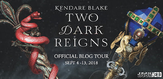 BLOG TOUR: Two Dark Reigns by Kendare Blake - Review & Giveaway