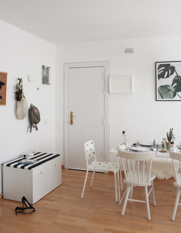 DE LUNARES Y NARANJAS: Nuestro salón Ikea