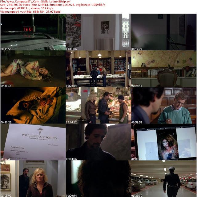 Giallo DVDRip [Español Latino] Descargar 1 Link [Ver Online]