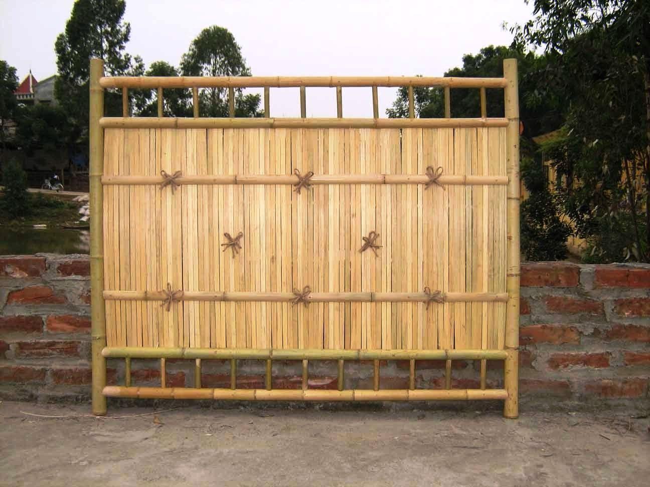 Gambar Pagar Bambu Rumah Sederhana