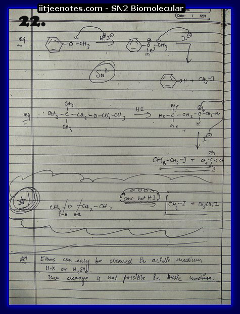 SN2 Biomolecular Org Notes11