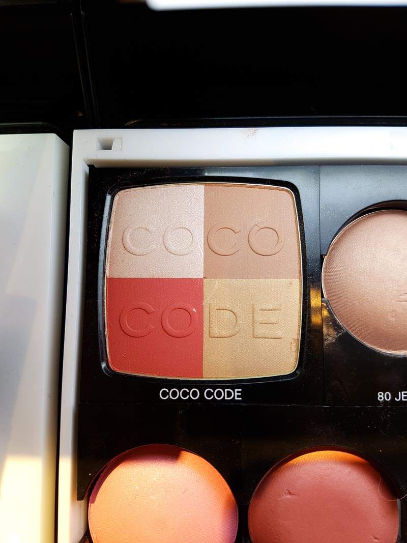 Chanel Coco Codes Spring 2017 Makeup Collection Coco Code Blush Harmony Palette - Blush de Harmonie