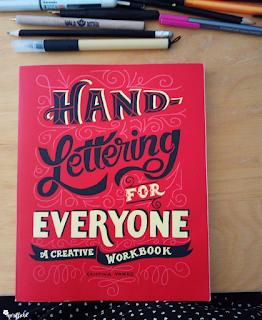 Buch Handlettering von Cristina Vanko - eine Buchrezension von Manuela Potthast