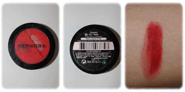 Swatch Colorful Teinte N°40 Red Carpet - Sephora