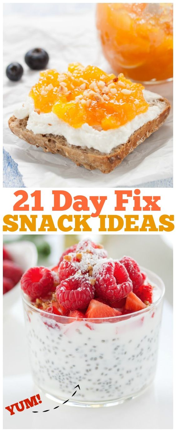 HEALTHY SNACKING ON THE 21-DAY FIX