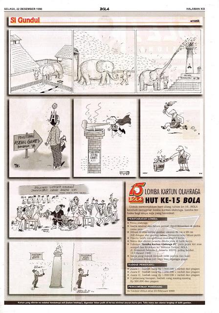 Si Gundul EDISI NO. 862 / SELASA, 22 DESEMBER 1998