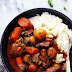 Slow Cooker Beef Bourguignon #Recipe