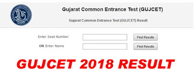 GUJCET Result 2018 | Topper Student, Merit List, cut off Marks Check here www.gseb.org