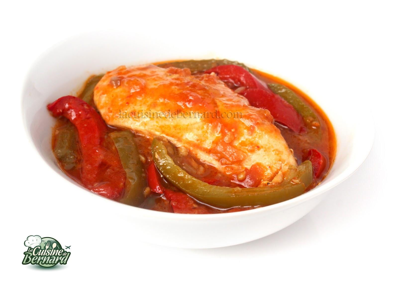 La cuisine de bernard poulet basquaise - Absorber l humidite avec du riz ...