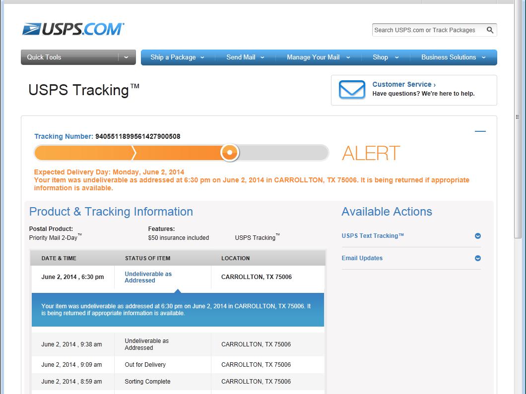 Usps tracking - cafenews info