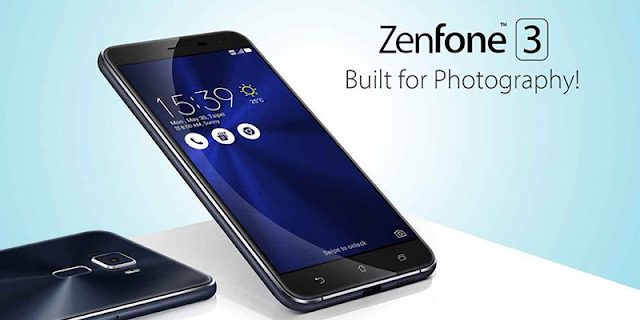 ASUS ZenFone 3 ZE520KL. Built for Photography
