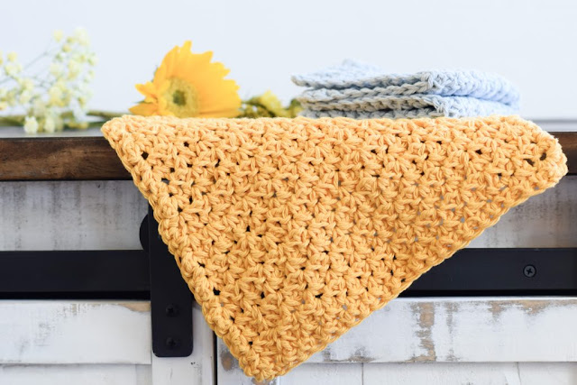 farmhouse washcloths crochet pattern