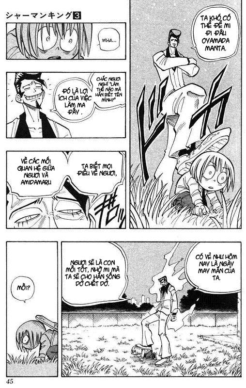 Shaman King [Vua pháp thuật] chap 19 trang 19