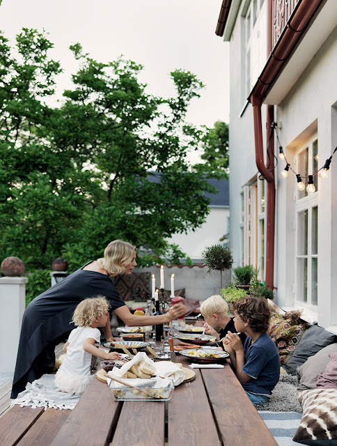 Inside an Interior Designer and Model's Beautiful Swedish Home
