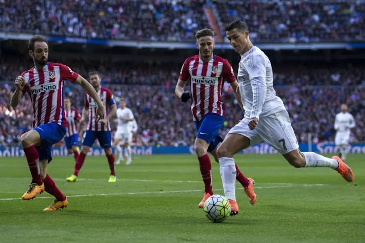 atletico gegen real madrid
