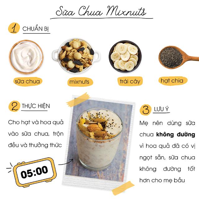 Hướng dẫn sử dụng và bảo quản Mixnuts