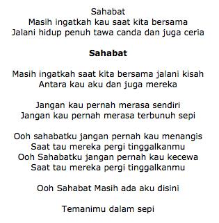 Lirik Lagu Dhyo Haw feat VOC Sahabat