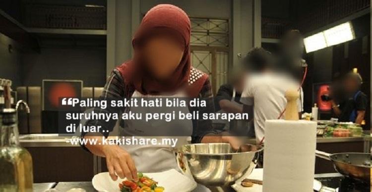 'Hantaran Sampai RM 20k, Tapi Reti Masak Maggi Jek??'