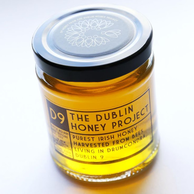 Dublin Honey Project packaging by Gearóid Carvill and Nicky Hooper